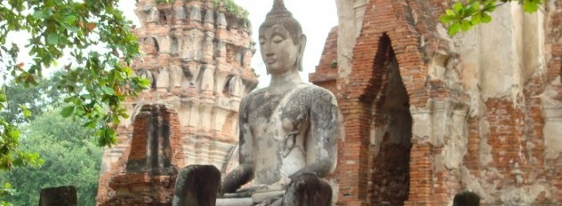 316 Wat Mahathat Relics (Ayutthaya)